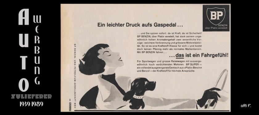 Autozulieferer Werbung von 1938-1989