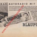 Blaupunkt Auto-Radio ADAC Motorwelt Mai 1956