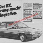 Citroen BX ams 19/1983