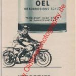 SSO Inbegriff der Zweritakt-Schmierung - ESSO Reklame von 1956