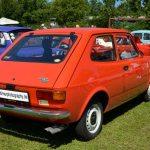 Fiat 127 2-türig mit großer Heckklappe und Gasdruckfeder