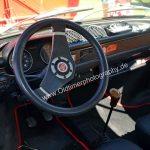 Fiat 127 Interieur mit nachgerüstetem Sportlenkrad