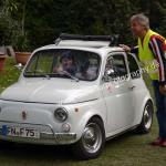 Fiat 500 beim Oldtimertreffen in Kressbronn