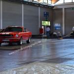 Ford Mustang auf der Oldtimermesse in Friedrichshafen