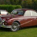 Jaguar Mark 2 beim Oldtimertreffen