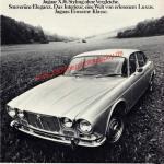 Jaguar XJ6 Der Einsame Reklame Werbung British Leyland 1972