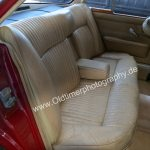 Jaguar XJ6 Serie 1 Fahrgastzelle hinten
