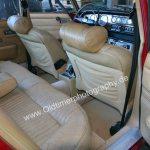Jaguar XJ6 mit lederbezogener Fondbereich