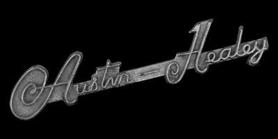 Logo Austin-Healey Schriftzug