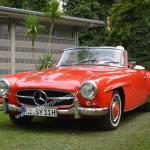 Mercedes-Benz 190 SL beim Oldtimertreffen in Strandbad Kressbronn