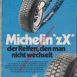Michelin zX Reifen ams Heft 11, 25. Mai 1974