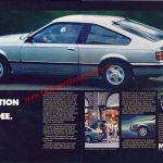 Opel Monza A1 Werbung Die Faszination einer neuen Idee in Auto Motor & Sport 5/1979