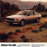 Opel Monza Reklame Werbung in AUTO ZEITUNG 23/1980
