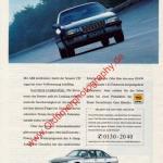 Opel Senator B Werbung Der Senator. Hight-Tech von Opel. DER SPIEGEL 12/1988