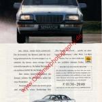 Opel Senator B Werbung Der neue Senator. Hight-Tech von Opel. DER SPIEGEL 20/1988