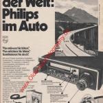 Philips Auto-Radio ams Heft 11, 25. Mai 1974