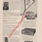 Philips Autoradio in Motor-Rundschau 12/1954