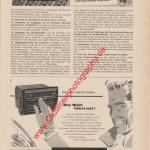 Radio Becker Werbung Motor-Rundschau Ausgabe 9/1956 Seite 339