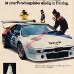 Shell TMO wir helfen ihne weiter und BMW M1 Werbung in Auto Motor & Sport 14/1979