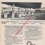 Shell Tankstellen Werbung 70er Jahre