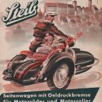Steib Gespann Werbung - Steib Werbung von 1954