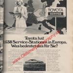 Toyota Reklame in Auto Katalog 1976