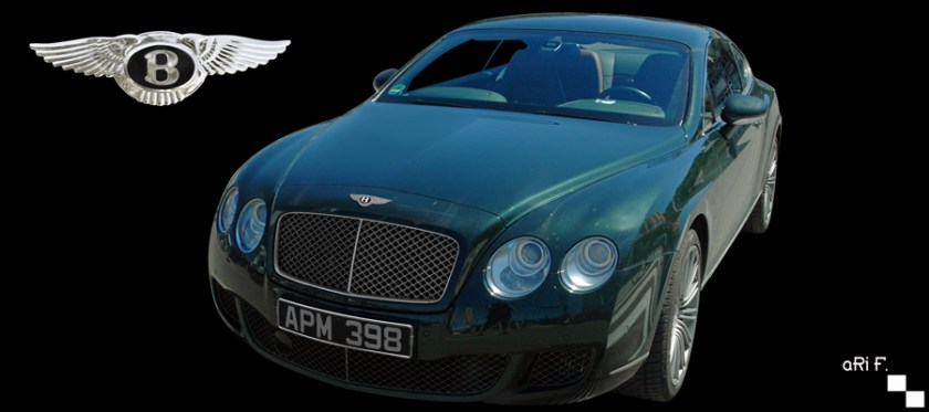 Bentley Continental GT Speed 2007-2011 for sale Poster