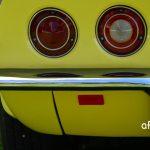 Chevrolet Corvette C3 Convertible mit runden Heckleuchten und geteilter Stoßstange und 4 Rundleuchten am Heck