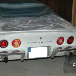 Chevrolet Corvette C3 T-Top in antique white