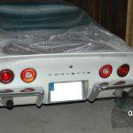 Chevrolet Corvette C3 T-Top in antique white