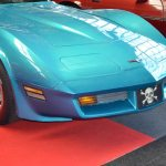 t Chevy Corvette C3 in Light Blue