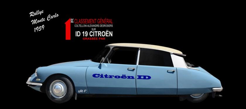 Citroën ID 19 acheter à vendre Poster