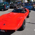 Corvette C3 auf dem Weg zum Oldtimertreffen am Bodensee