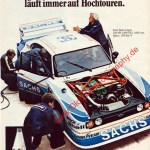 Ford Capri mit Shell Annonce in AMS 15/1979