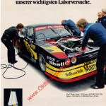 Ford Capri mit Shell Annonce in AMS 1979