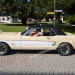 Ford Mustang beim Oldtimertreffen beim Automuseum Wolfegg