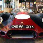 Lister Jaguar von 1955 Frontansicht