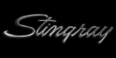 Logo Chevrolet Corvette C3 Stingray