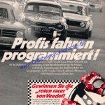 Veedol mit BMW und Ford Annonce Reklame in AMS 15-1972