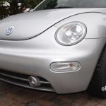 VW New Beetle front view