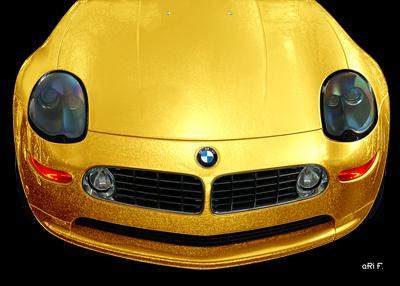 BMW Z8 Typ E52 in Gold