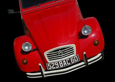Citroën 2CV Ente Poster