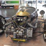Morgan Threewheeler auf der Motorworld Classics Bodensee