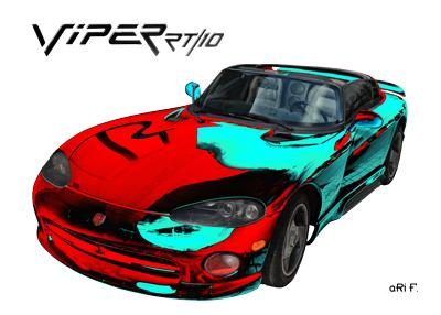 Dodge Viper RT/10 (Produktion 1992-2002) Poster