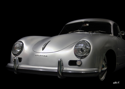 Porsche 356 A Poster in original color