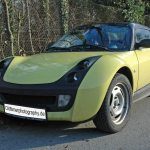"SMART Roadster in ""Shine Yellow"""