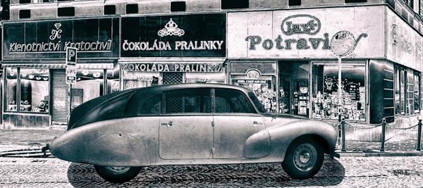 Tatra 87 Poster Československo