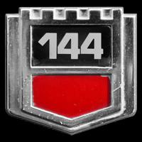 Logo Volvo 144