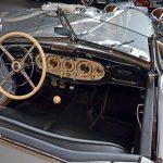 Mercedes-Benz 540 K Spezial Roadster Interieur mit schwarzem Leder