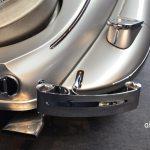 Mercedes-Benz 540 K Spezial Roadster mit verchromter hinterer Stoßstange und gedrehtem Endstück